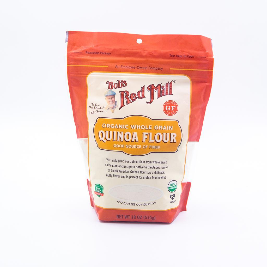 ORGANIC WHOLE GRAIN QUINOA FLOUR 18OZ GF